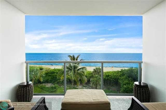 1610 N Ocean Blvd #403, Pompano Beach, FL 33062 (MLS #F10299337) :: Adam Docktor Group