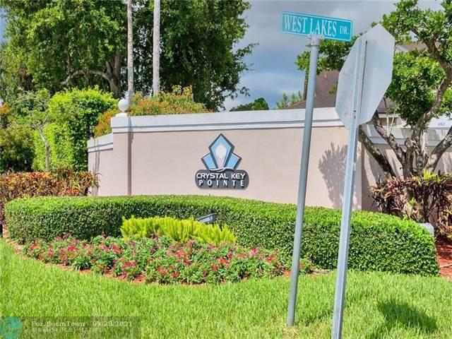 1117 W Lakes Dr #1, Deerfield Beach, FL 33442 (#F10299644) :: Baron Real Estate