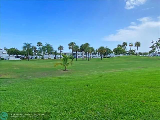2850 W Golf Blvd #114, Pompano Beach, FL 33064 (#F10299944) :: Michael Kaufman Real Estate