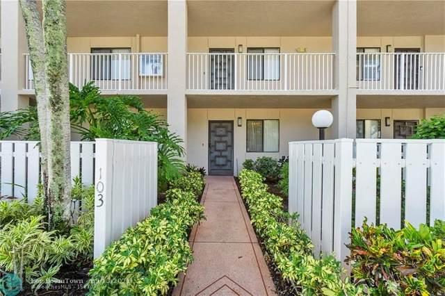 6037 Pointe Regal Cir #103, Delray Beach, FL 33484 (#F10300134) :: Michael Kaufman Real Estate