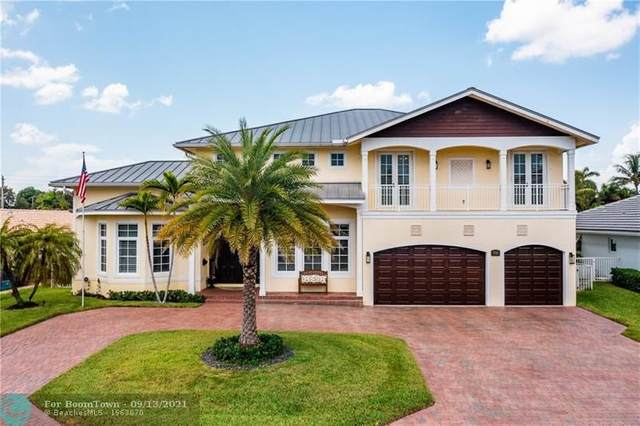 3721 NE 24th Ave, Lighthouse Point, FL 33064 (MLS #F10300321) :: Castelli Real Estate Services