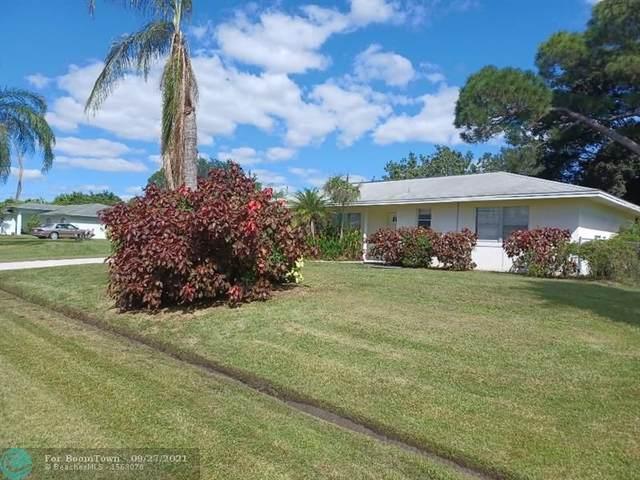149 SW Evans Ave, Port Saint Lucie, FL 34984 (MLS #F10300888) :: Castelli Real Estate Services
