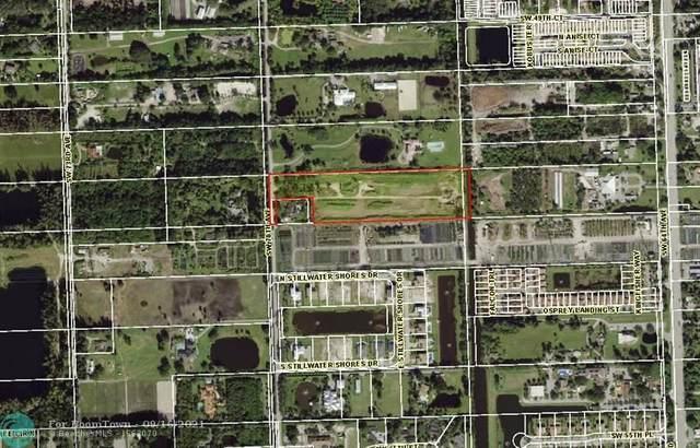 5140 SW 70th Ave, Davie, FL 33314 (MLS #F10301174) :: Castelli Real Estate Services