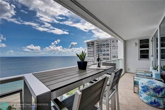 4300 N Ocean Blvd 19D, Fort Lauderdale, FL 33308 (#F10301470) :: Dalton Wade