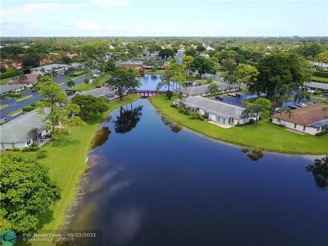 5367 Privet Pl B, Delray Beach, FL 33484 (#F10301514) :: Michael Kaufman Real Estate
