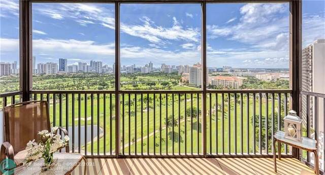 20379 W Country Club Dr #2134, Aventura, FL 33180 (MLS #F10301636) :: United Realty Group