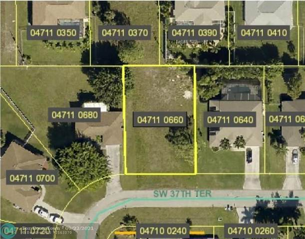 2013 SW 37th Terrace, Other City - In The State Of Florida, FL 33914 (MLS #F10301891) :: THE BANNON GROUP at RE/MAX CONSULTANTS REALTY I