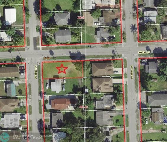 0 NW 28TH TER, Unincorporated Broward County, FL 33311 (MLS #F10301948) :: Green Realty Properties