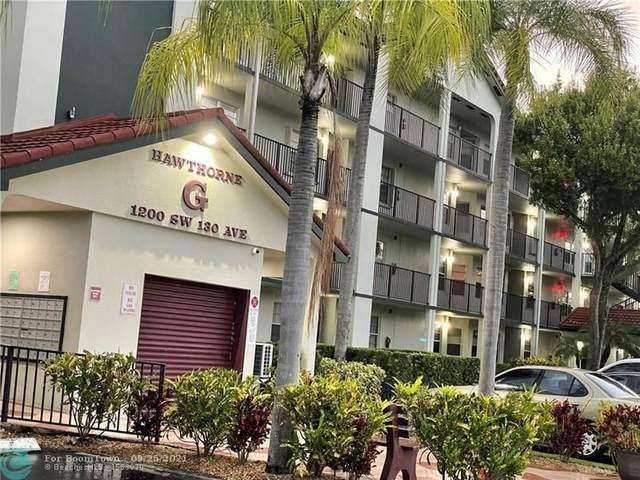 1200 SW 130th Ave 101G, Pembroke Pines, FL 33027 (#F10302082) :: The Rizzuto Woodman Team