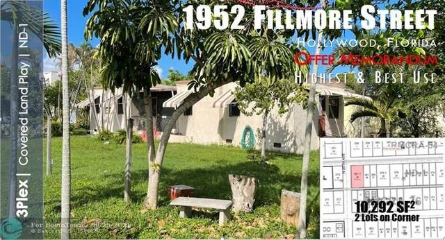 1952 Fillmore St, Hollywood, FL 33020 (MLS #F10302216) :: Castelli Real Estate Services