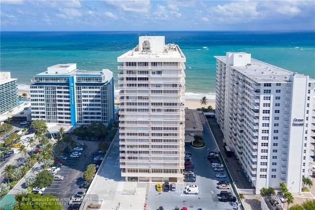 4020 Galt Ocean Dr #303, Fort Lauderdale, FL 33308 (MLS #F10302339) :: Adam Docktor Group