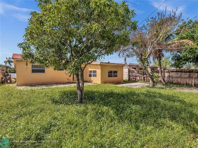 1309 NE 39th St, Pompano Beach, FL 33064 (MLS #F10302346) :: Green Realty Properties