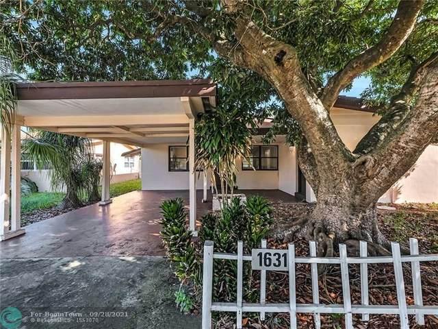 1631 NE 39th St, Pompano Beach, FL 33064 (MLS #F10302349) :: Green Realty Properties