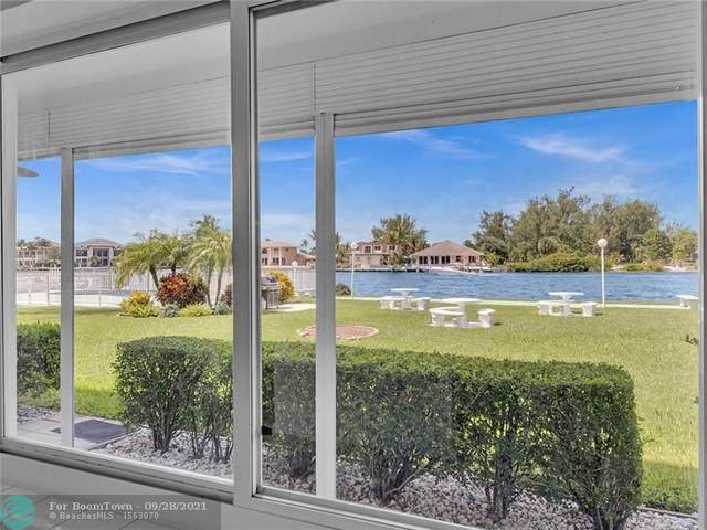 1001 N Riverside Dr #103, Pompano Beach, FL 33062 (MLS #F10302462) :: Adam Docktor Group