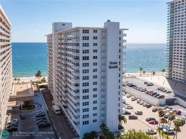 4010 Galt Ocean Drive #1712, Fort Lauderdale, FL 33308 (MLS #F10302952) :: The MPH Team