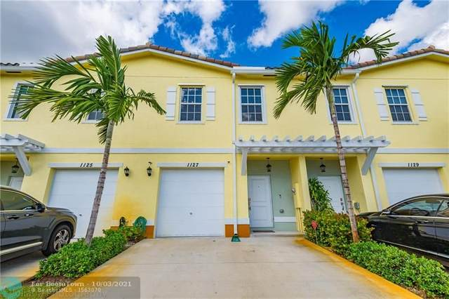 1127 NW 41st Ln #1127, Lauderhill, FL 33313 (MLS #F10303108) :: Castelli Real Estate Services
