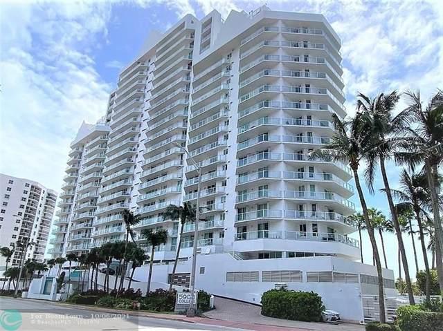 5900 E Collins Ave #606, Miami Beach, FL 33140 (#F10303541) :: The Rizzuto Woodman Team