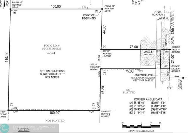 70 NW 13th Ave, Dania Beach, FL 33004 (MLS #F10303659) :: Castelli Real Estate Services