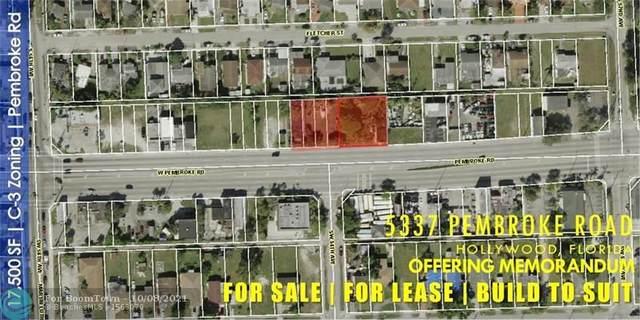 5337-5401 Pembroke Rd, Hollywood, FL 33021 (MLS #F10303859) :: Castelli Real Estate Services