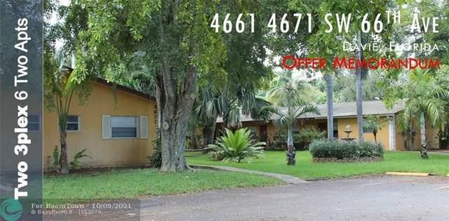 4661 SW 66th Ave, Davie, FL 33314 (MLS #F10303934) :: Castelli Real Estate Services