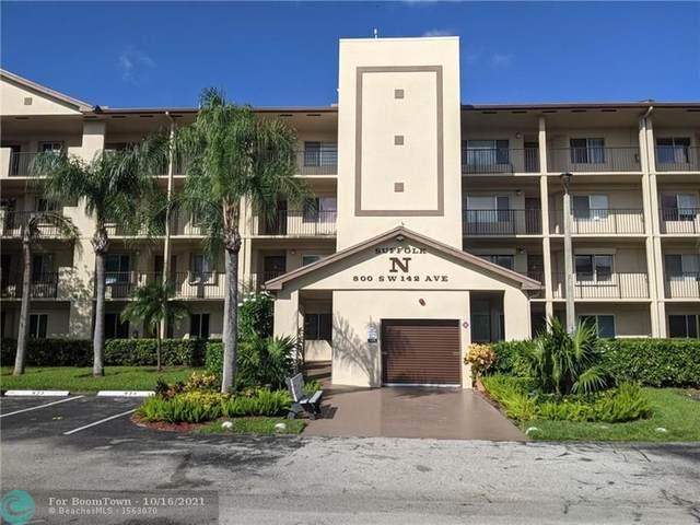 800 SW 142nd Ave 308N, Pembroke Pines, FL 33027 (#F10304252) :: Ryan Jennings Group