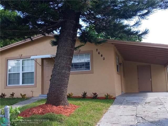 2640 NW 6 CT, Pompano Beach, FL 33069 (MLS #F10304330) :: Castelli Real Estate Services