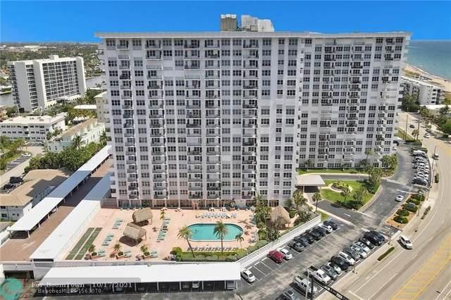 405 N Ocean Blvd #106, Pompano Beach, FL 33062 (MLS #F10304395) :: Castelli Real Estate Services