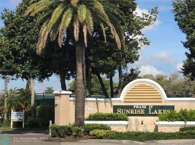 10346 NW 24th Pl #306, Sunrise, FL 33322 (MLS #F10304546) :: Green Realty Properties