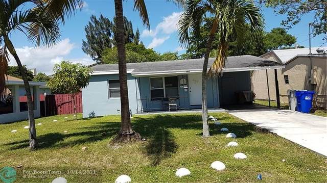 603 SW 8th St, Pompano Beach, FL 33060 (MLS #F10304549) :: Green Realty Properties