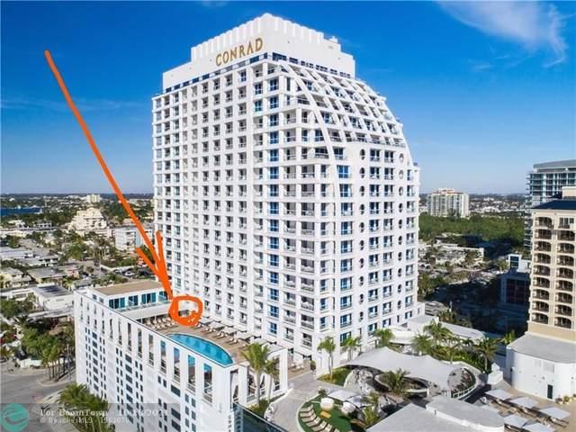 551 N Fort Lauderdale Beach Blvd #607, Fort Lauderdale, FL 33304 (MLS #F10304655) :: The DJ & Lindsey Team