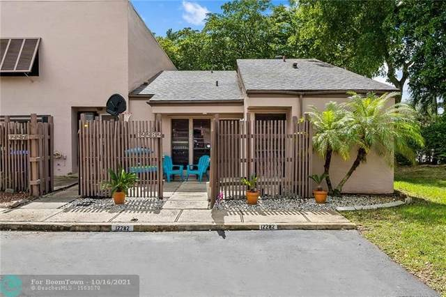 12282 NW 10th St #12282, Pembroke Pines, FL 33026 (MLS #F10304766) :: Castelli Real Estate Services