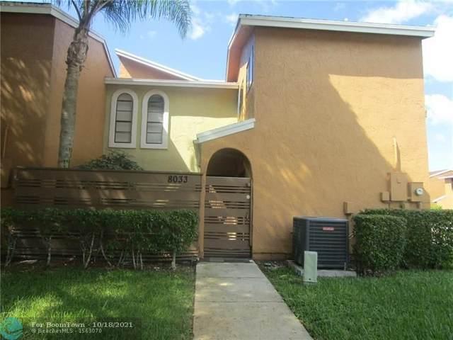 8033 NW 71st Ct #8033, Tamarac, FL 33321 (MLS #F10304941) :: The Mejia Group   LoKation Real Estate