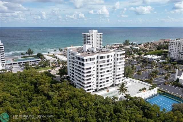 3450 S Ocean Blvd Ph-2, Highland Beach, FL 33487 (#F10305005) :: Posh Properties