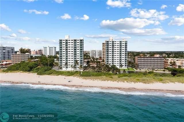 1610 N Ocean Blvd #203, Pompano Beach, FL 33062 (#F10305009) :: DO Homes Group