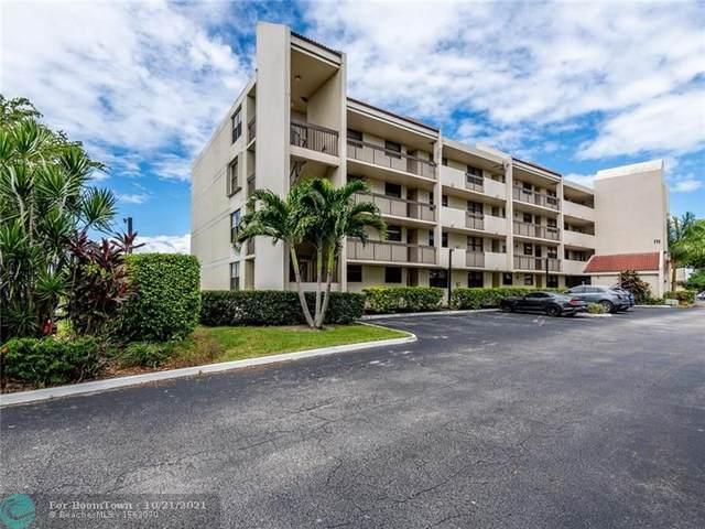 111 Lake Emerald Dr #406, Oakland Park, FL 33309 (MLS #F10305156) :: The Mejia Group | LoKation Real Estate
