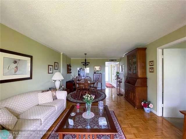 121 Royal Park Dr 4C, Oakland Park, FL 33309 (MLS #F10305278) :: The Mejia Group | LoKation Real Estate