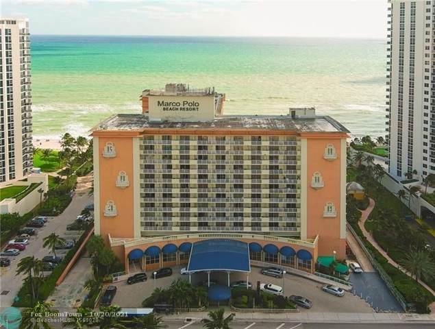 19201 Collins Ave #1005, Sunny Isles Beach, FL 33160 (MLS #F10305295) :: The DJ & Lindsey Team
