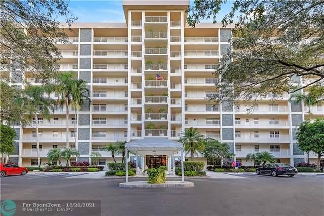 3520 Oaks Way #607, Pompano Beach, FL 33069 (MLS #F10305330) :: Castelli Real Estate Services