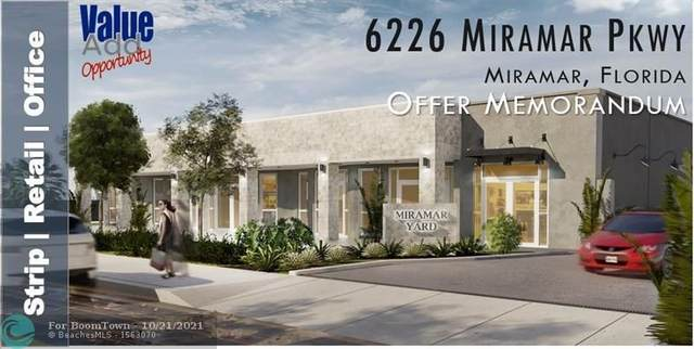 6229 Miramar Pkwy, Miramar, FL 33023 (MLS #F10305470) :: The Mejia Group | LoKation Real Estate