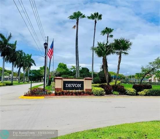 7488 N Devon Dr #110, Tamarac, FL 33321 (MLS #F10305518) :: The DJ & Lindsey Team