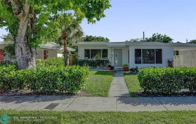 532 NE 14th Pl, Fort Lauderdale, FL 33304 (MLS #F10305547) :: Green Realty Properties