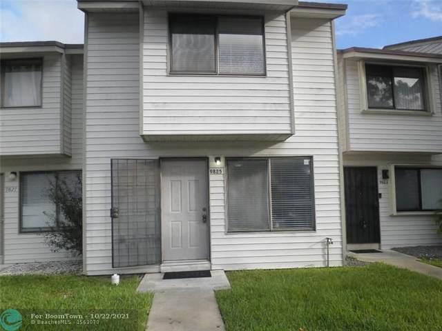 9825 NW 37th St 5F, Sunrise, FL 33351 (#F10305602) :: Posh Properties