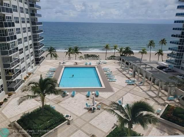 3500 Galt Ocean Drive #606, Fort Lauderdale, FL 33308 (MLS #F10306264) :: Patty Accorto Team