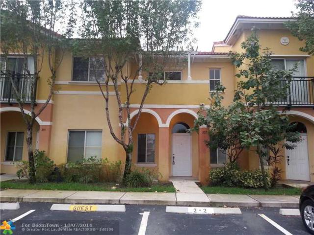 606 W Santa Catalina Cir #606, North Lauderdale, FL 33068 (MLS #F1310822) :: Green Realty Properties