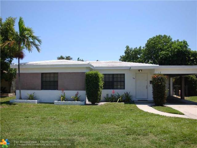 704 SW 12 ST, Fort Lauderdale, FL 33315 (MLS #F1355816) :: Green Realty Properties