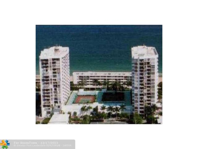 525 N Ocean Blvd #1215, Pompano Beach, FL 33062 (MLS #F1371191) :: Green Realty Properties