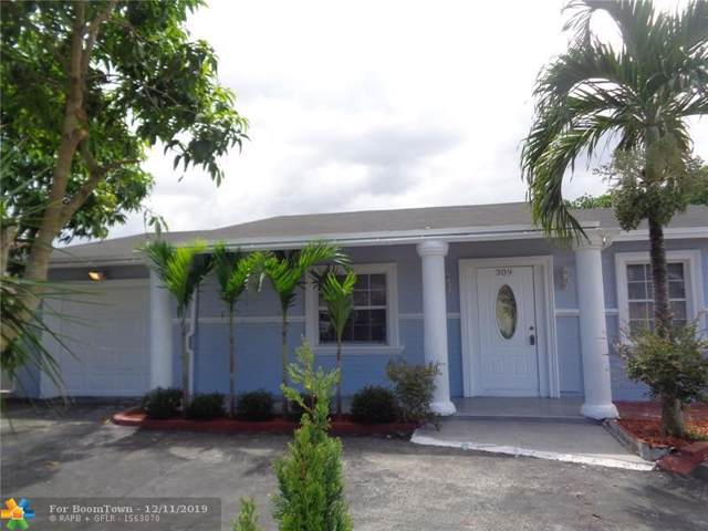 309 SW 77th Ave, North Lauderdale, FL 33068 (MLS #H10521336) :: RICK BANNON, P.A. with RE/MAX CONSULTANTS REALTY I