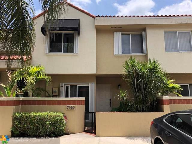 7920 NW 7th Ct #7920, Plantation, FL 33324 (MLS #H10697940) :: RICK BANNON, P.A. with RE/MAX CONSULTANTS REALTY I