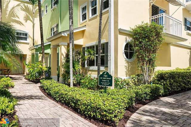 701 SE 16th St #4, Fort Lauderdale, FL 33316 (MLS #H10710146) :: RICK BANNON, P.A. with RE/MAX CONSULTANTS REALTY I