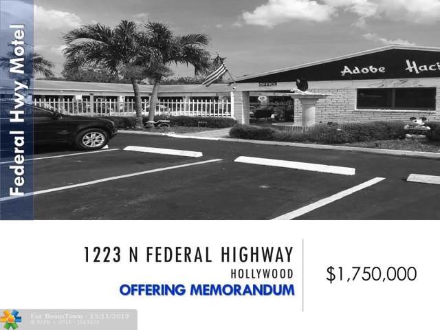 1223 N Federal Hwy, Hollywood, FL 33020 (#H10758708) :: Ryan Jennings Group